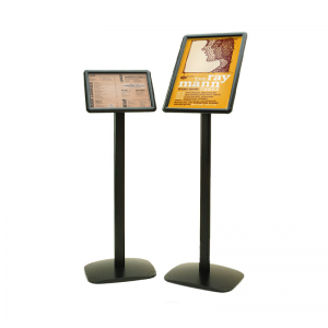 Black poster Display Stands A4 & A3