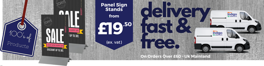 Panel Sign Stands